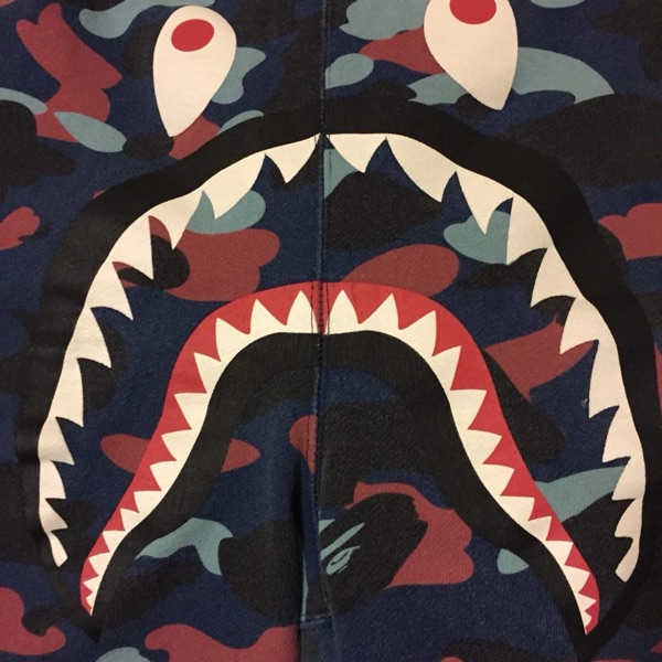 Bape Shark Shorts