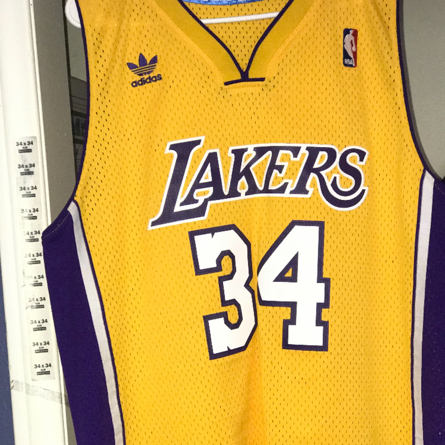 newest ce94a 0ec55 Lakers Jersey , Shaq Used