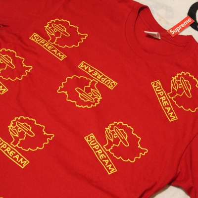 Supreme Gonz Heads Tee 'Red'