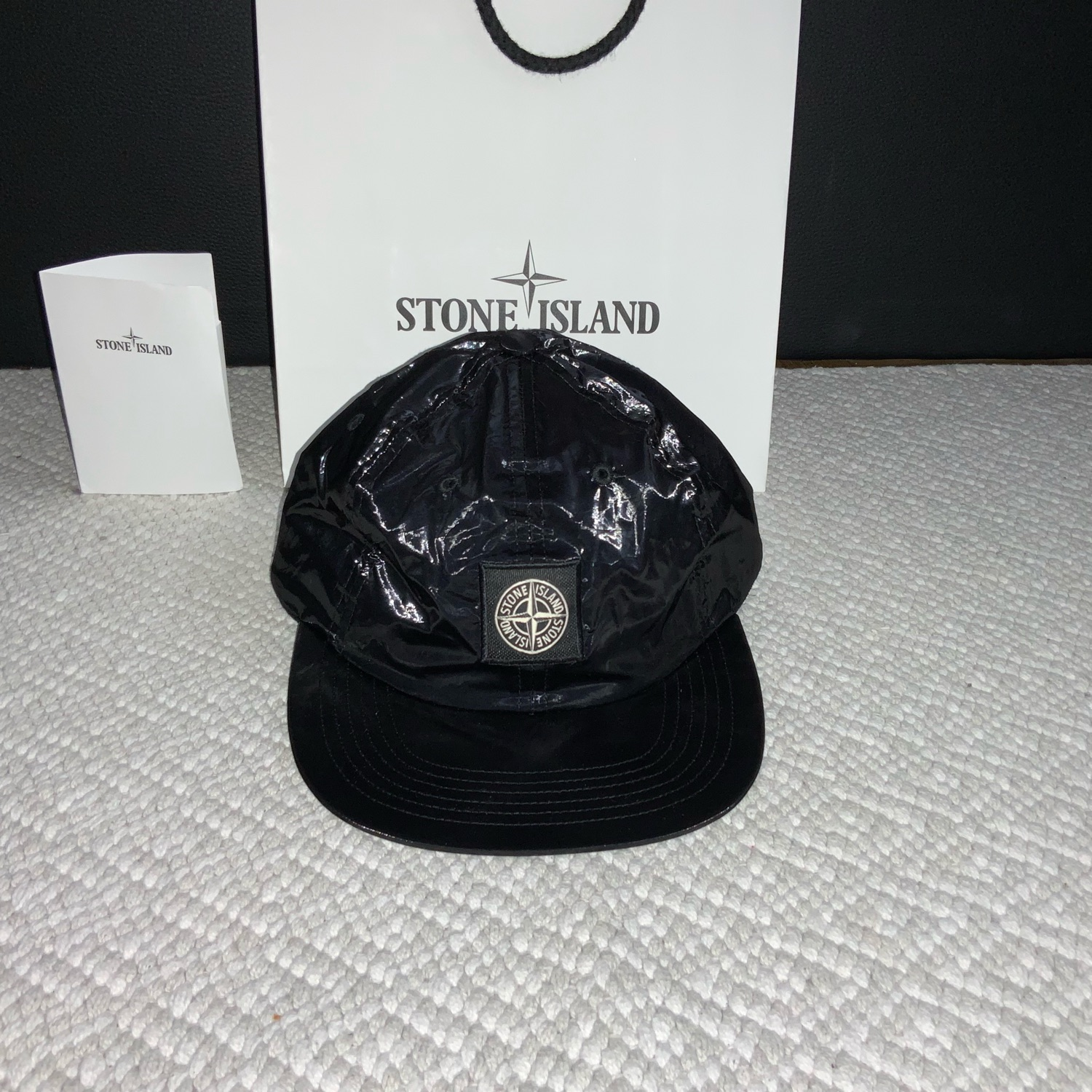 3f746301f Supreme/Stone Island New Silk Light 6-Panel