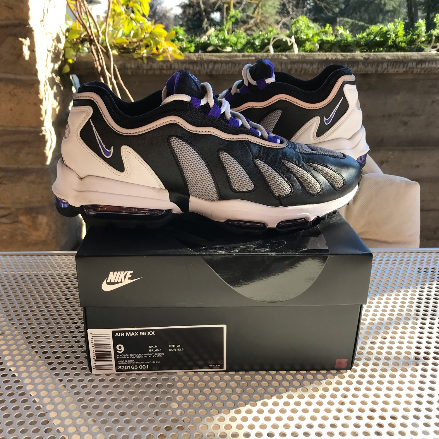 new arrival bc205 2c658 Air Max 96 Xx Off White Yeezy Parra Patta