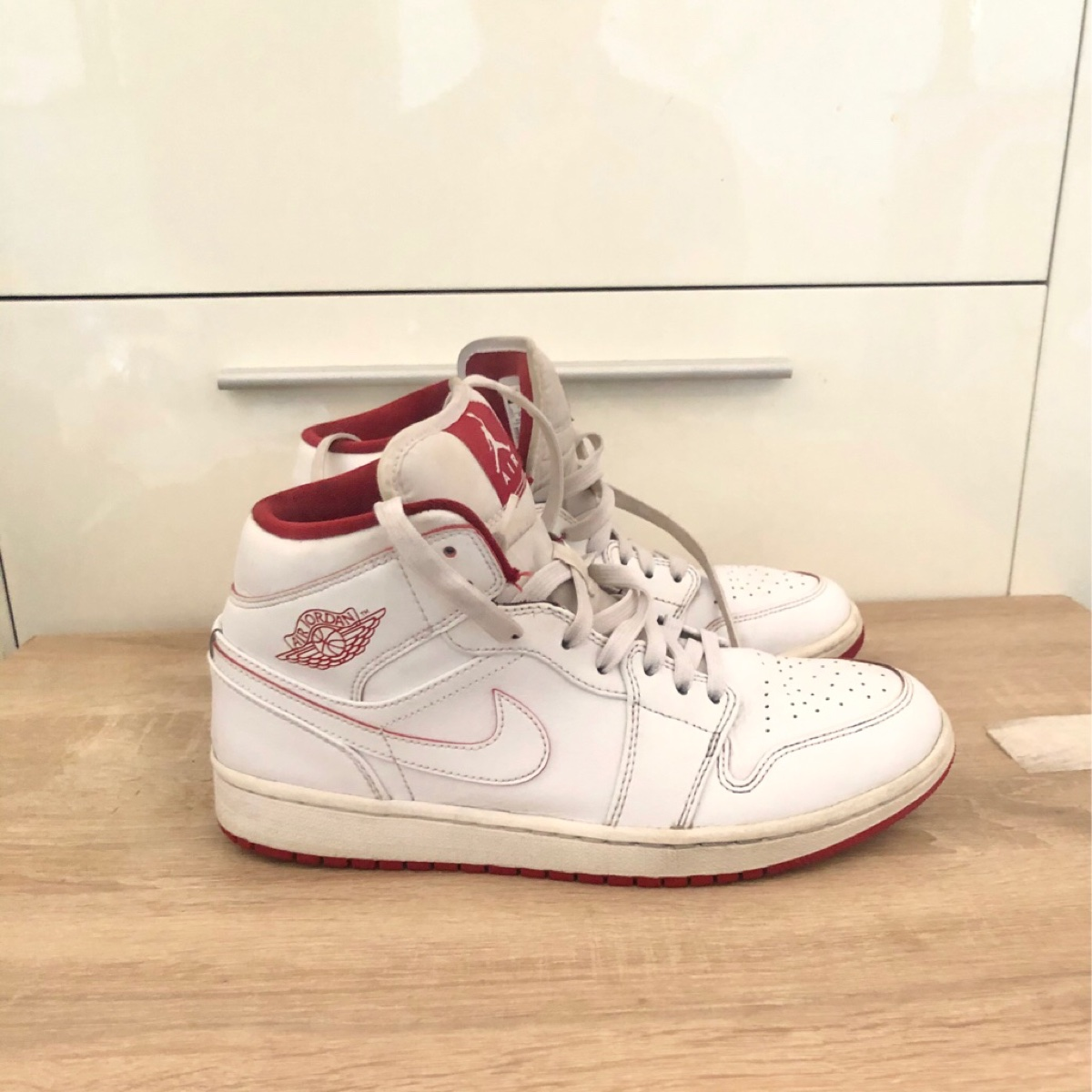 Nike air jordan 1 MiD White GYM High Top