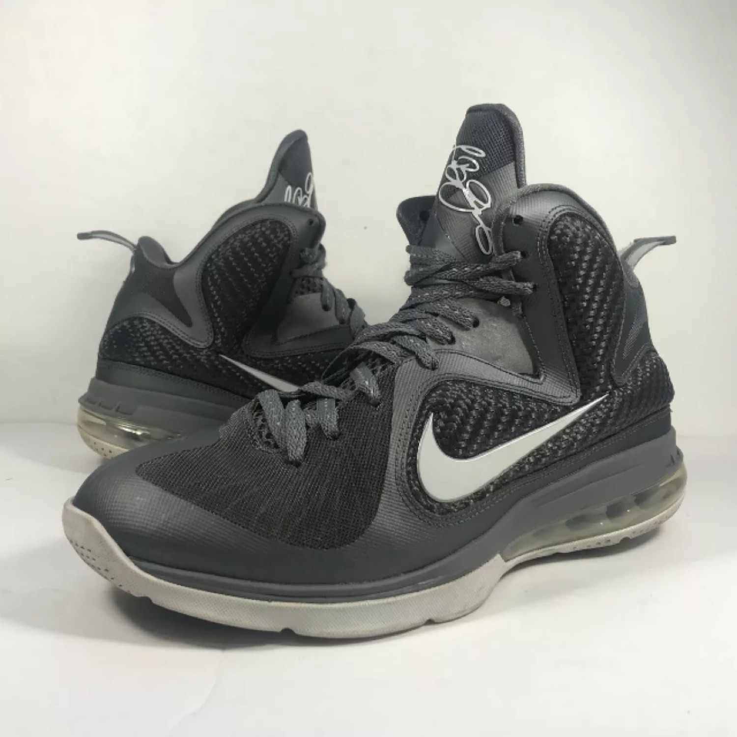 timeless design a2d69 48033 Nike Lebron James 9 Cool Grey