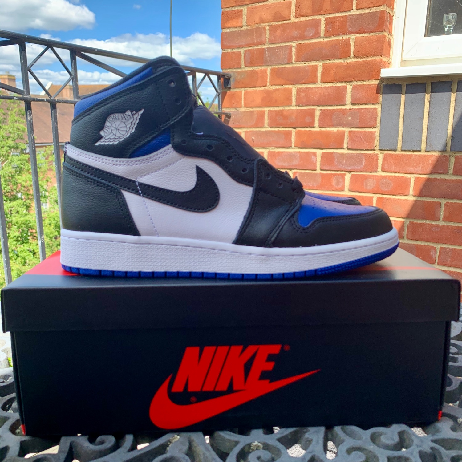 Nike Air Jordan 1 Royal Toe Gs