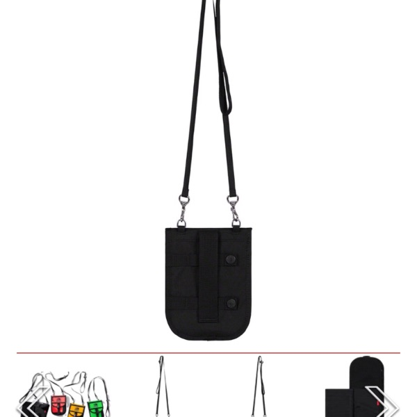 Black Supreme The North Face Rtg Utility Pouch