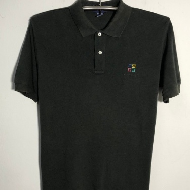 Givenchy Polo T Shirt Embroidered Vintage 1990s Mens Outwear