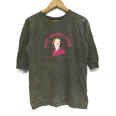 Vtg Marilyn Monroe Birthday Nissin Sweatshirt