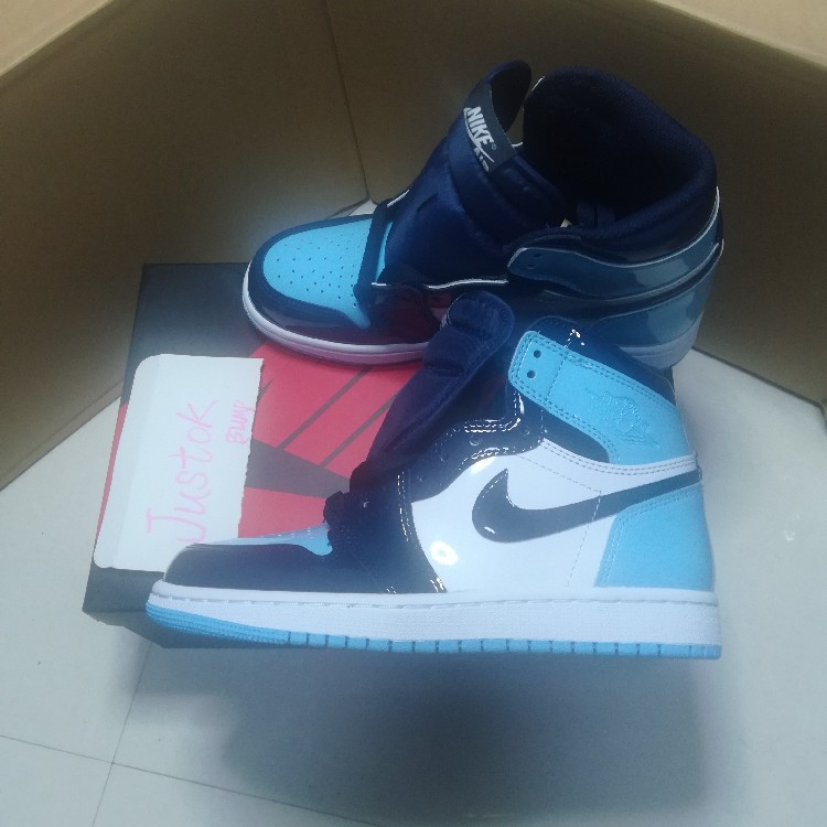 Air Jordan 1 Retro High Og Wmns Blue Chill Obsidian Blue Chill White