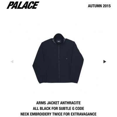 Palace Arms Jacket Anthracite