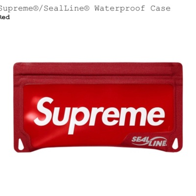 Supreme Sealing Waterproof Pouch Case Red