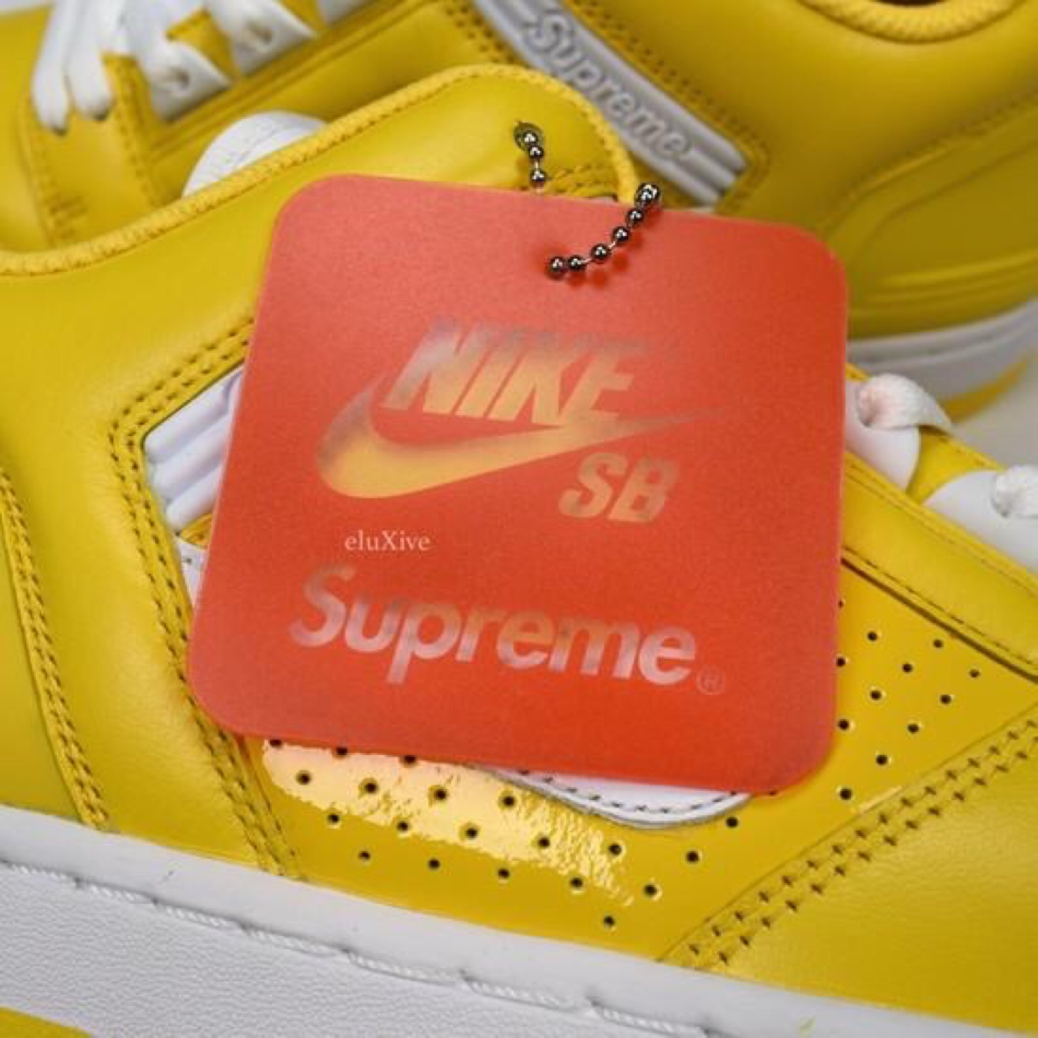 Supreme X Nikr Sb Air Force 2 Af2 Varsity Yellow