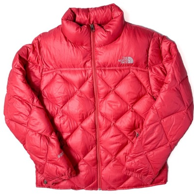 Rose Pink North Face Puffer Jacket - Vintage