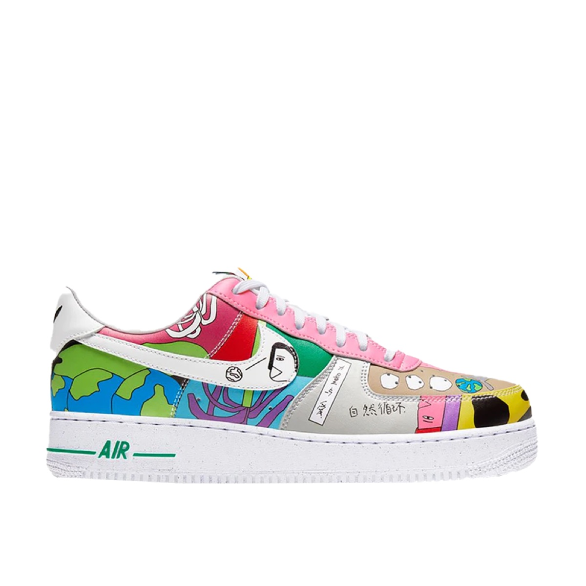 Nike Air Force 1 Flyleather Ruohan Wang