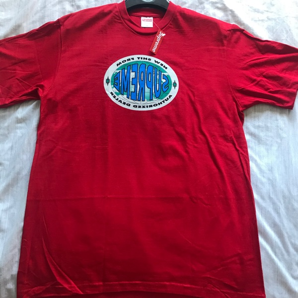 Supreme New Shit Tee   Message Me Offers