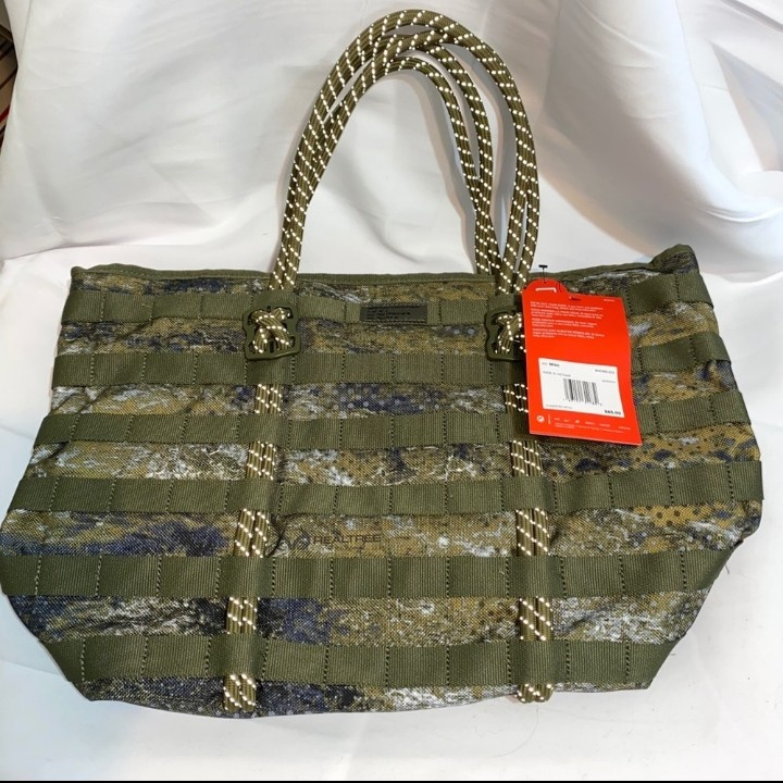NWT Nike AF-1 X RealTree Green Camouflage Tote Bag