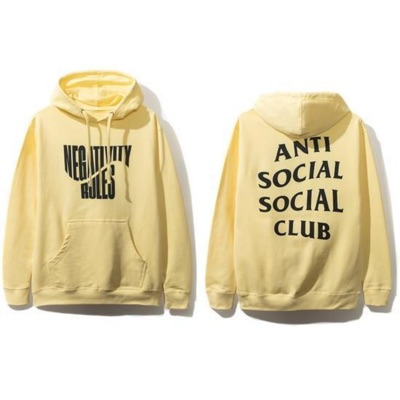 Anti Social Social Club Negativity Rules Hoodie