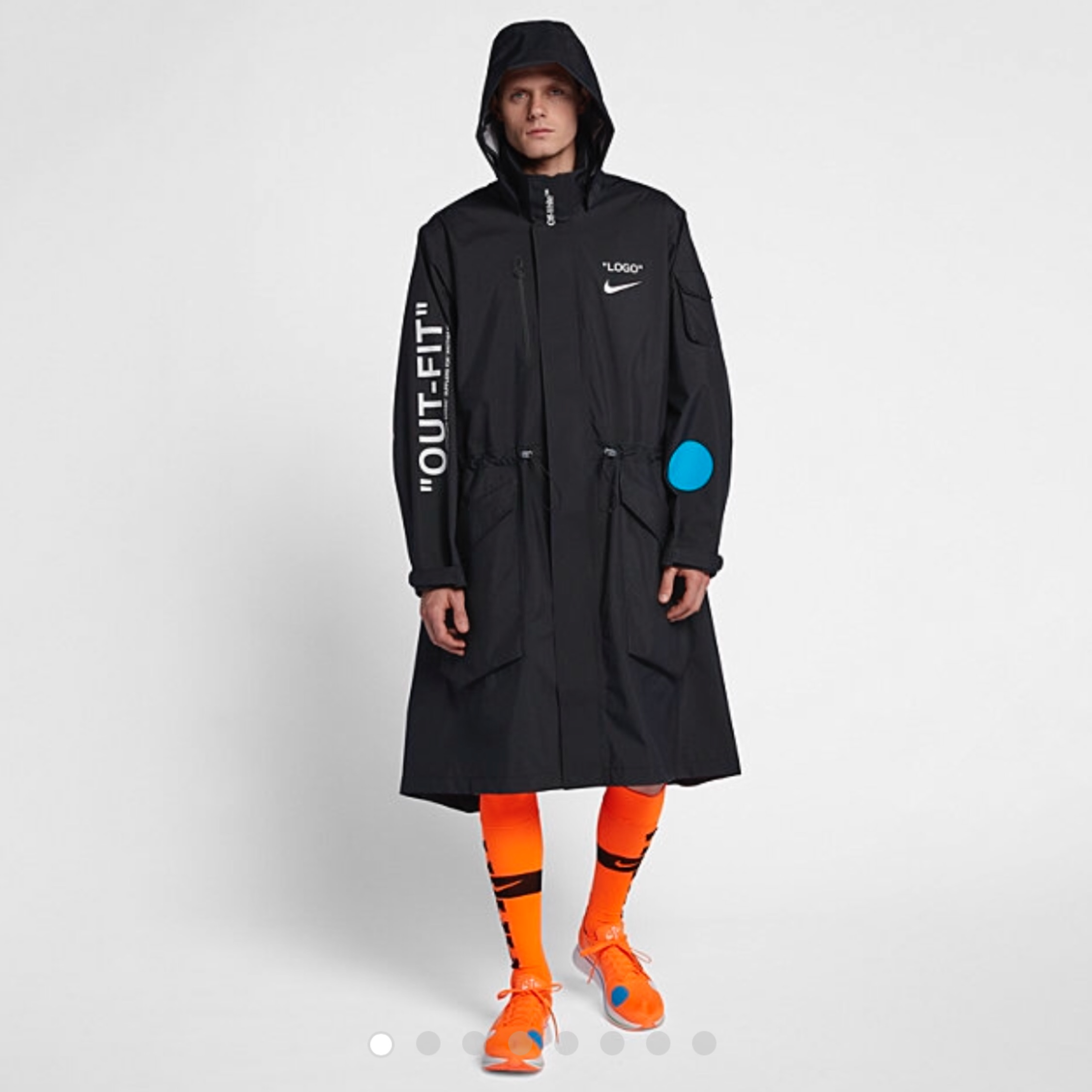 nike long coat men