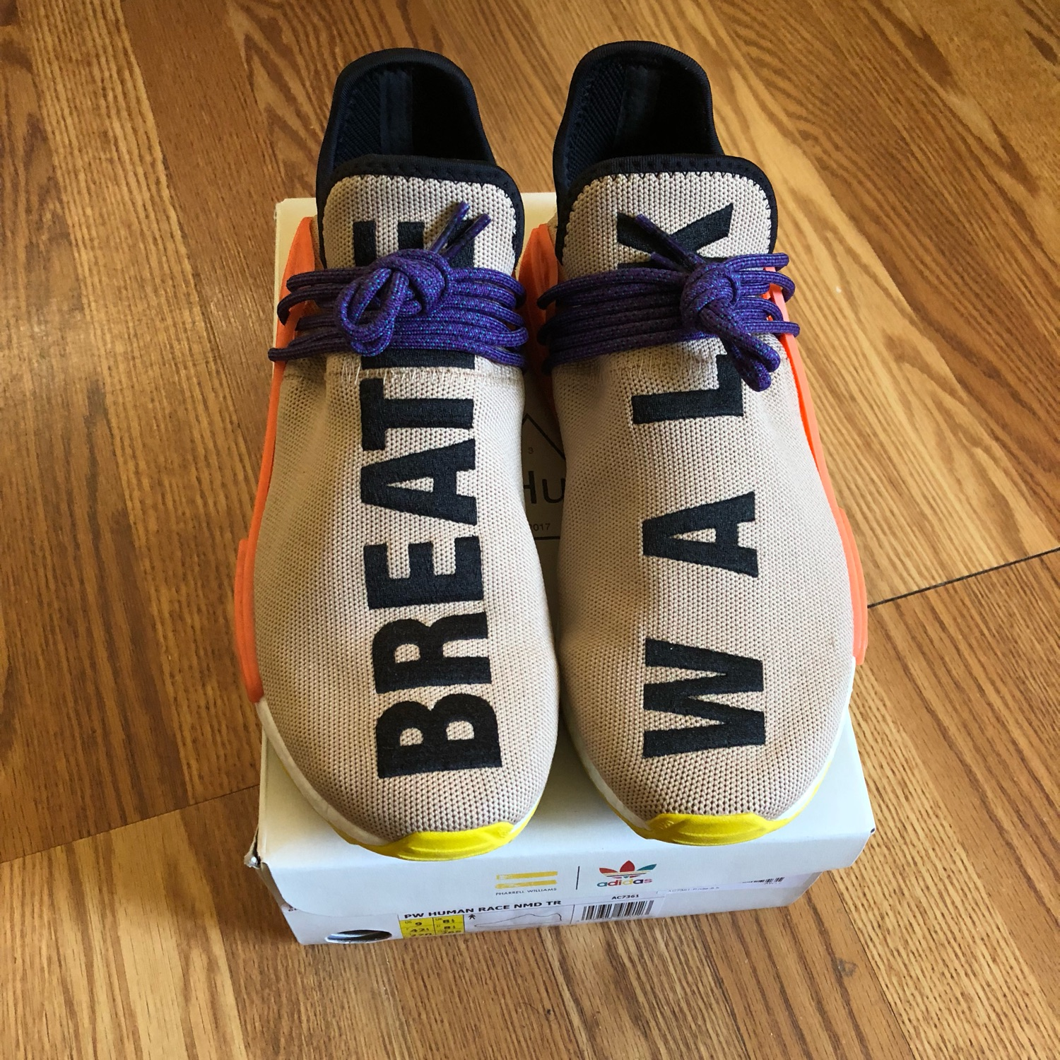 the best attitude 44690 c1490 Pharrell Human Race Pale Nude Size 9
