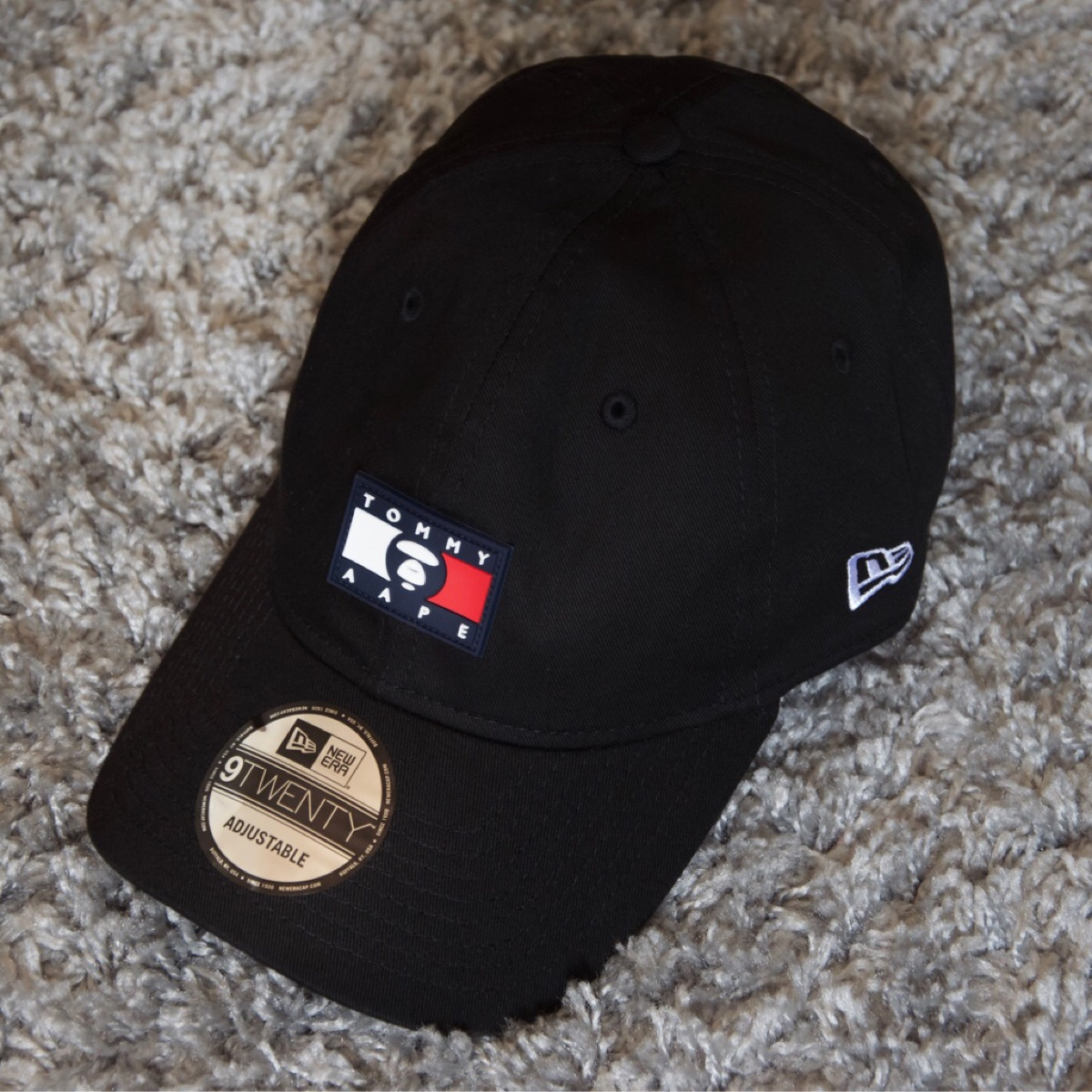 Tommy x Aape x New Era cap