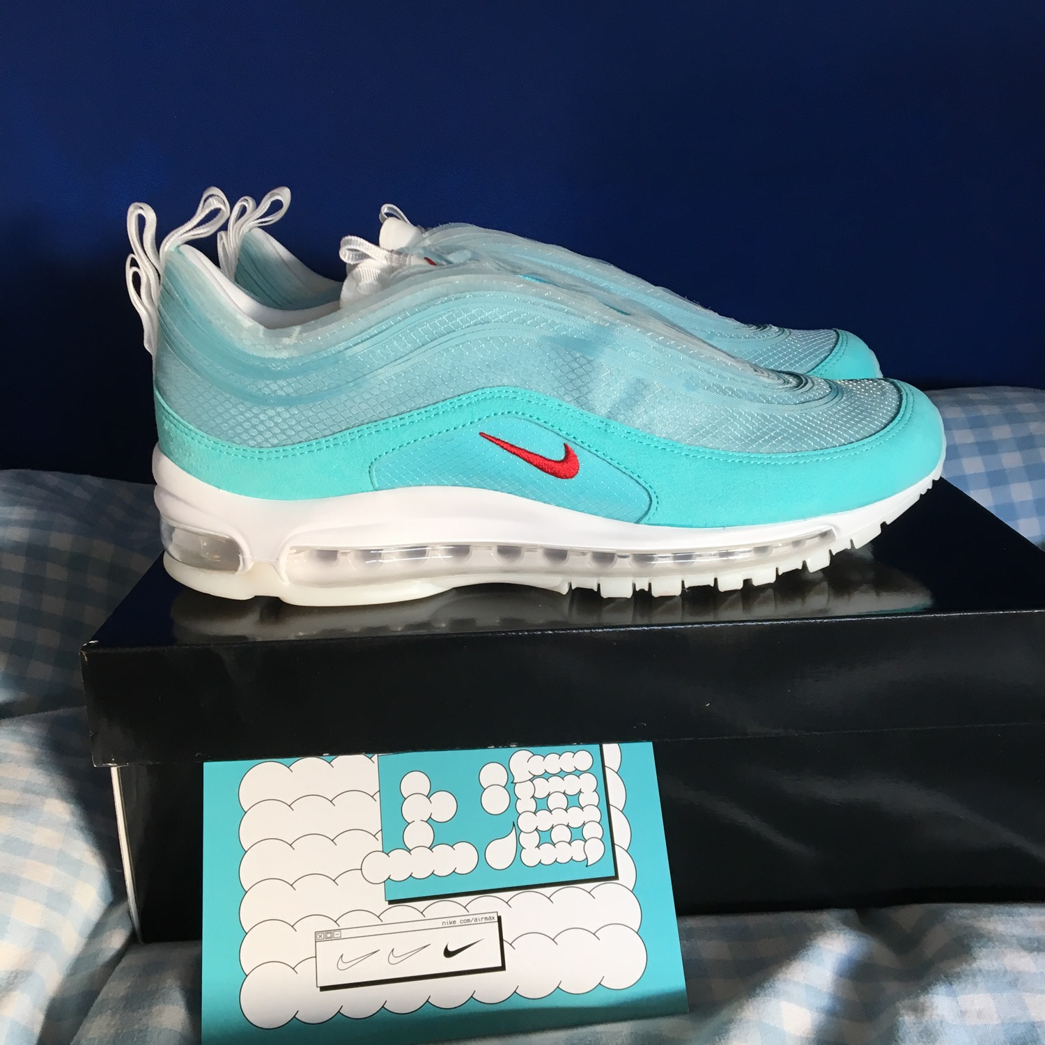 Nike Air Max 97 On Air Cash Ru (Shanghai)