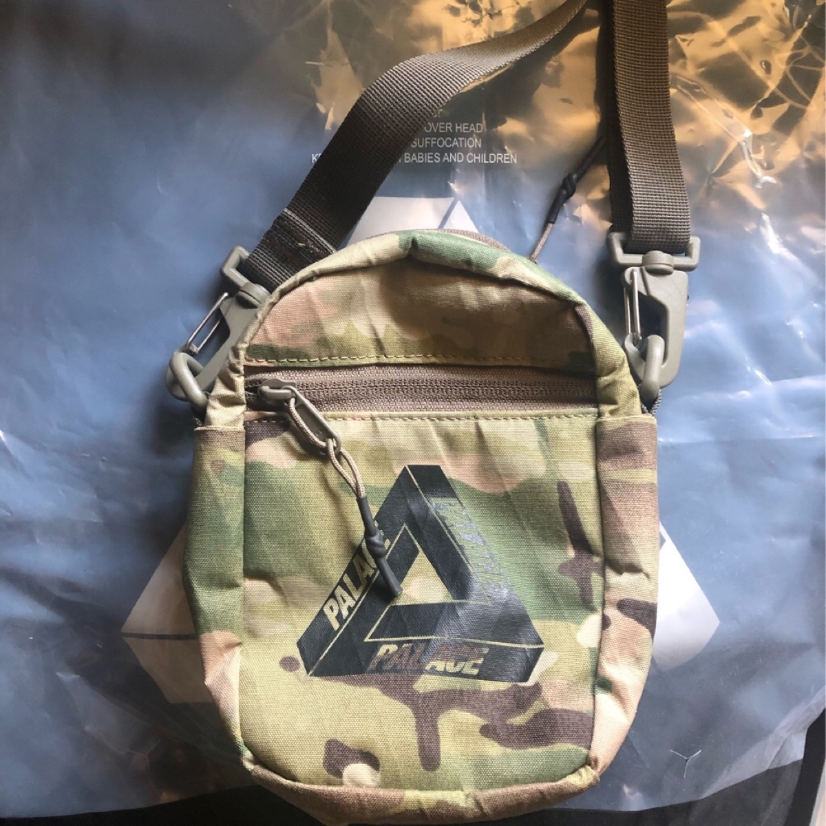 Palace Multicam Tech Shot 2 Bag Original