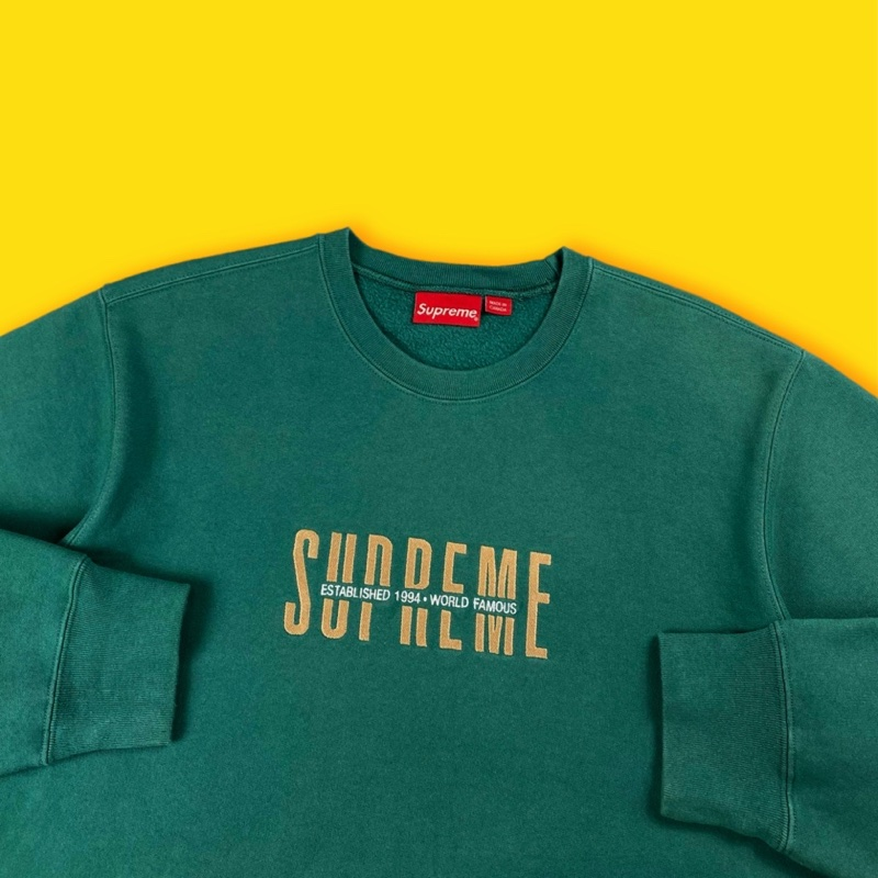 Supreme World Famous Crewneck