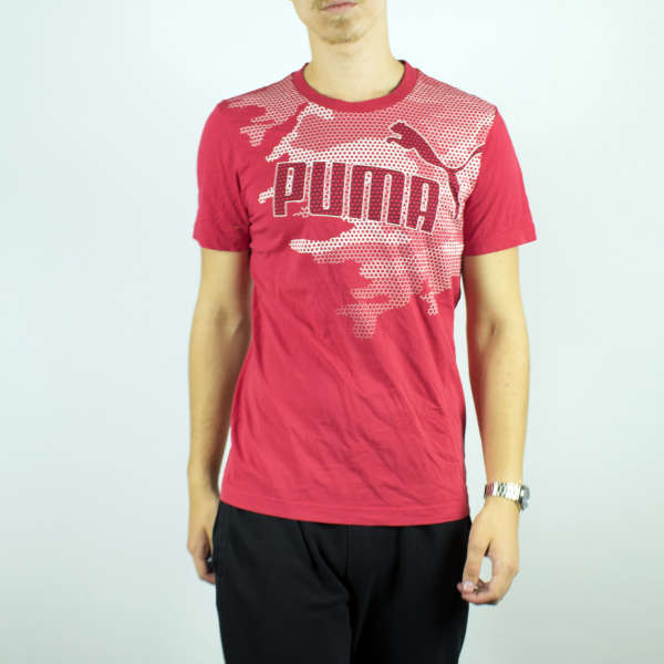 Puma t-shirt top blouse tee in pink