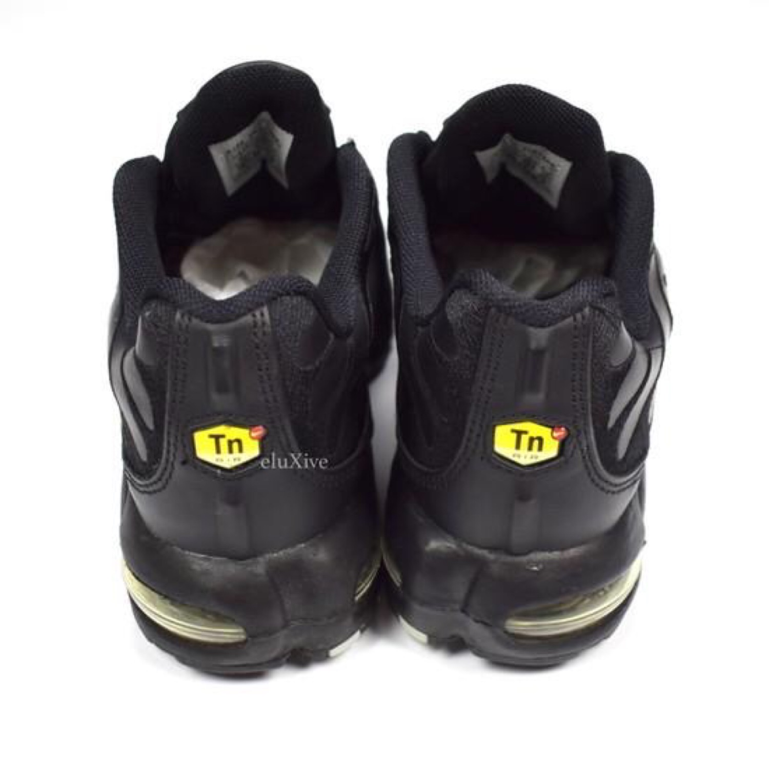 Nike Air Max Plus Tn Leather BlackSilver 2004 Ds