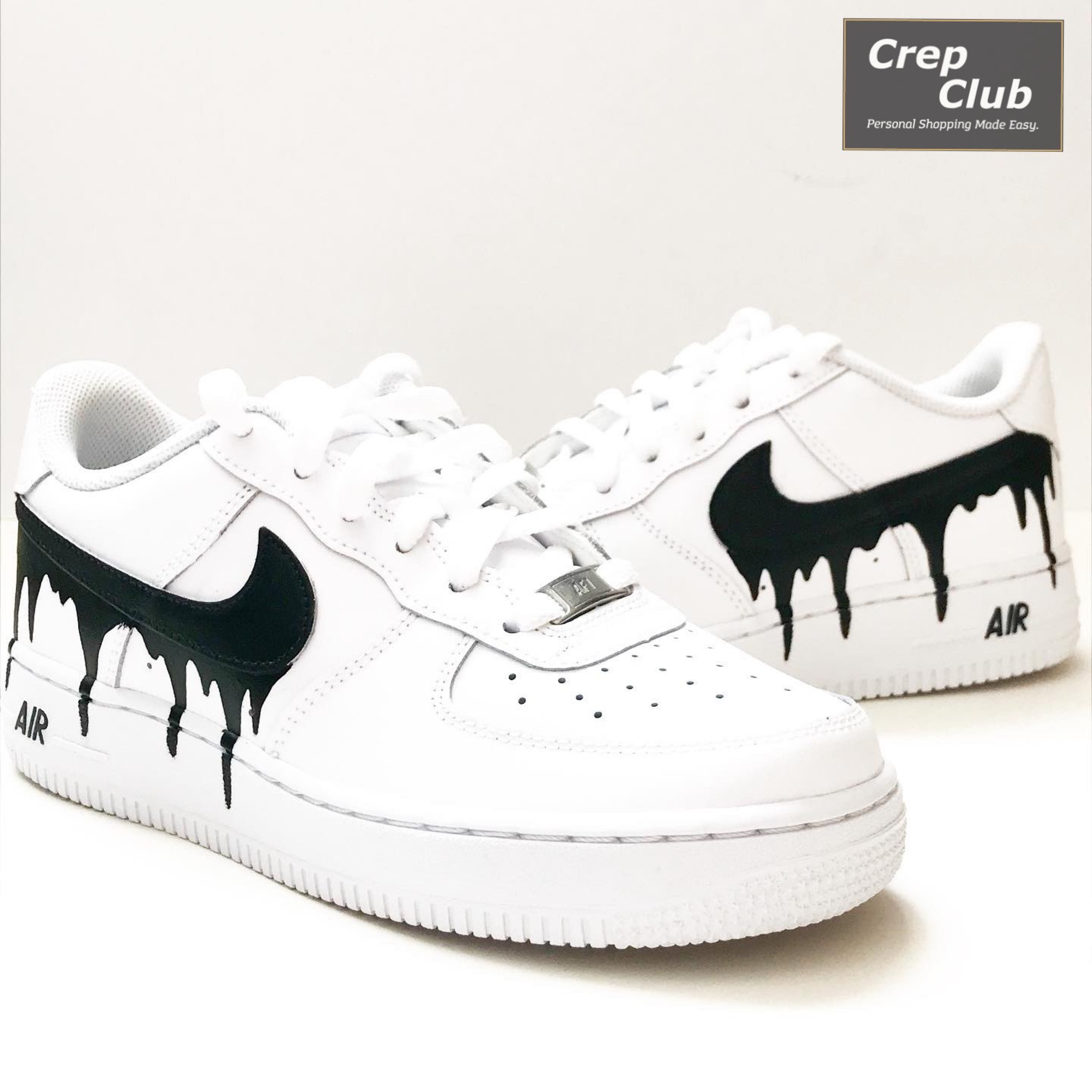 Nike Air Force 1 Custom 'Drip'