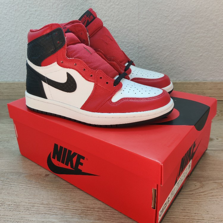 Nike Air Jordan 1 Satin Red Snake