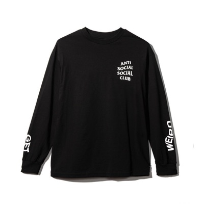 Assc Black Get Weird Long Sleeve