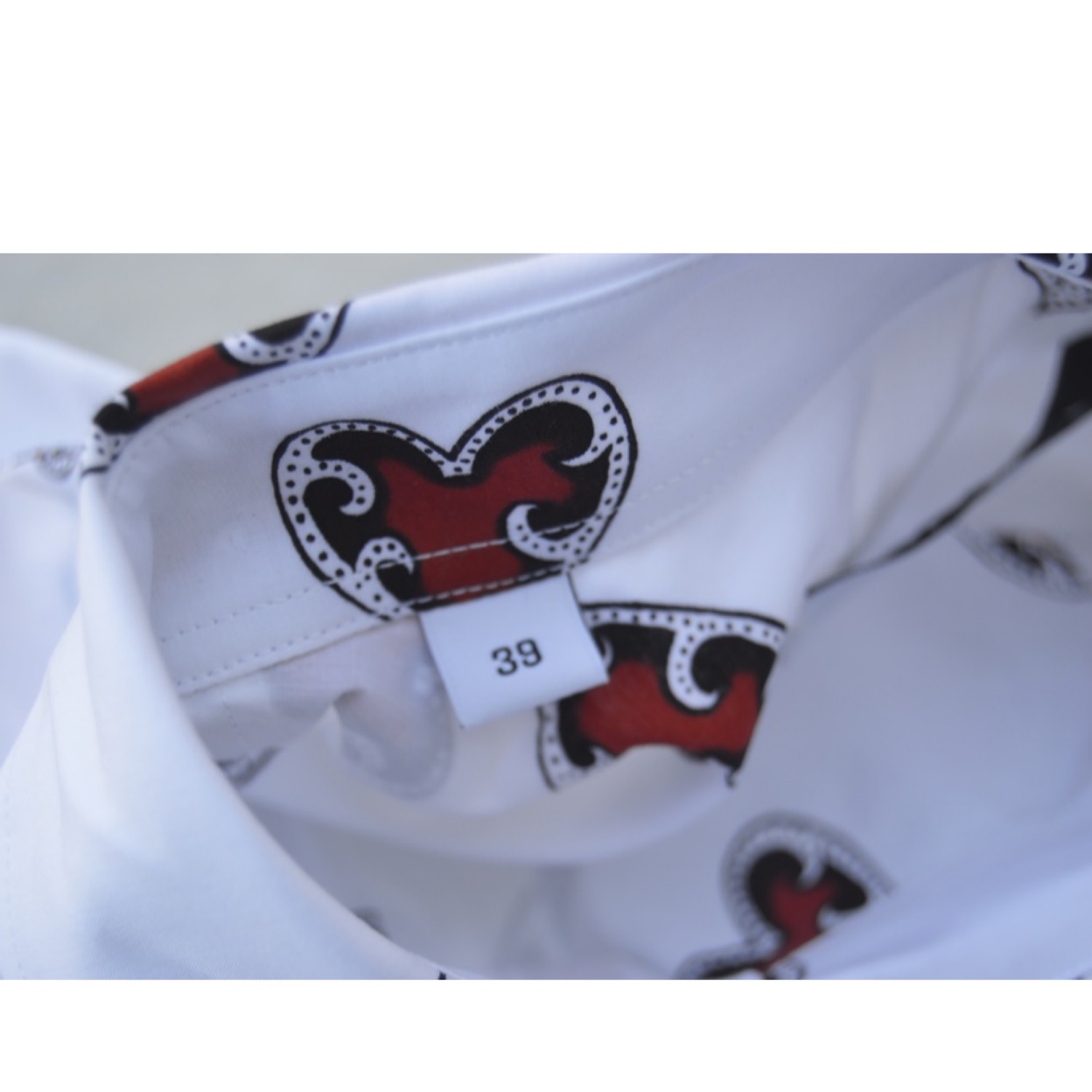 Givenchy Hearts Print Shirt