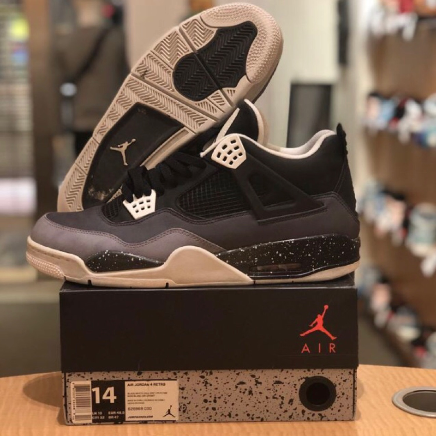 innovative design afbed 9869a Air Jordan 4 Fear Pack
