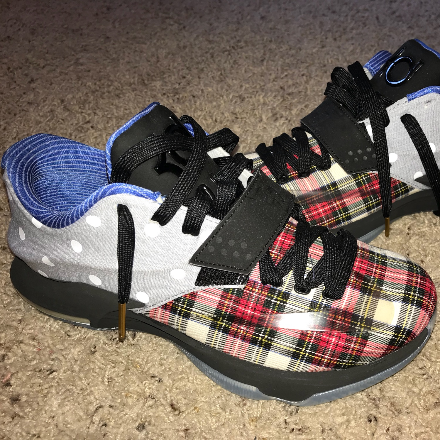 sports shoes 69c7f 1b15f Kd 7 Ext Plaid And Polka Dot