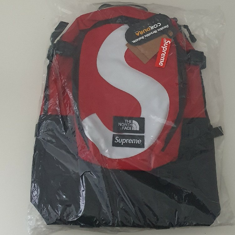 Supreme The North Face S Logo Expedition Backpack Red