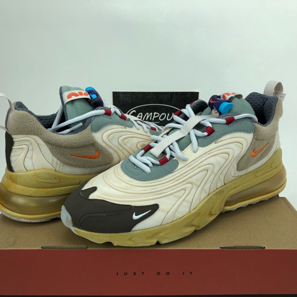 Nike Air Max 270 React ENG Travis Scott Cactus Trails Ps
