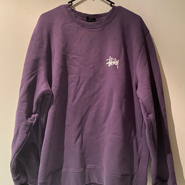 Purple Stussy Sweatshirt