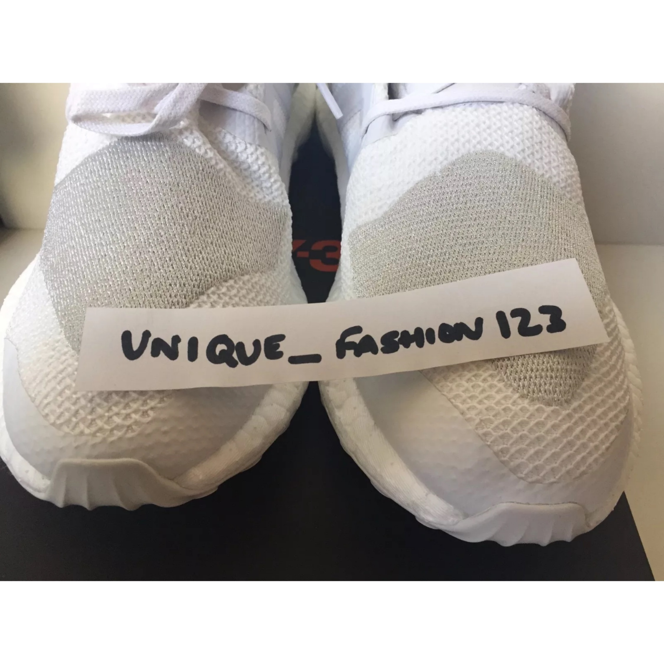 d643ee11c49b Adidas Y3 Pure Boost Knit Crystal White