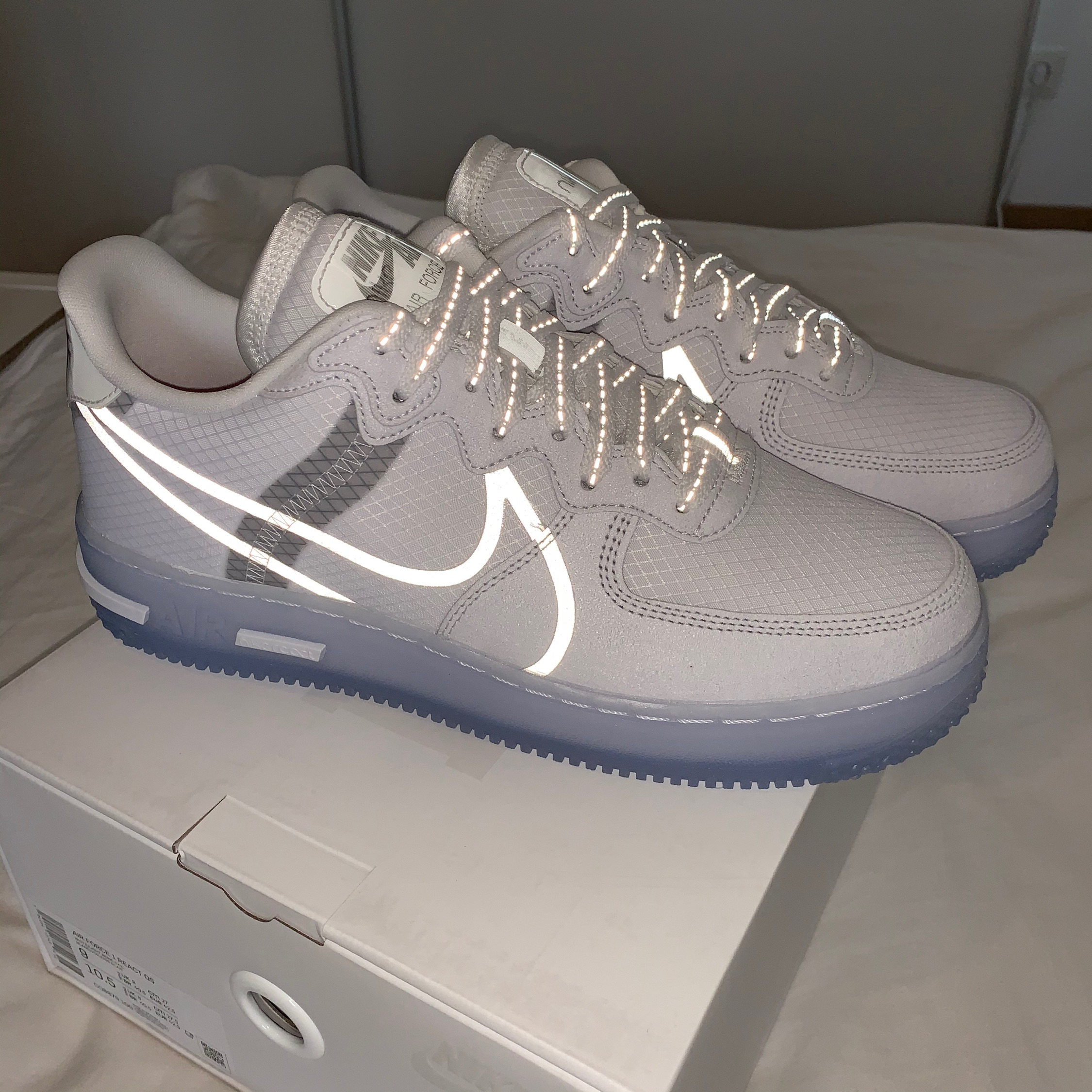 nike air force 1 react qs