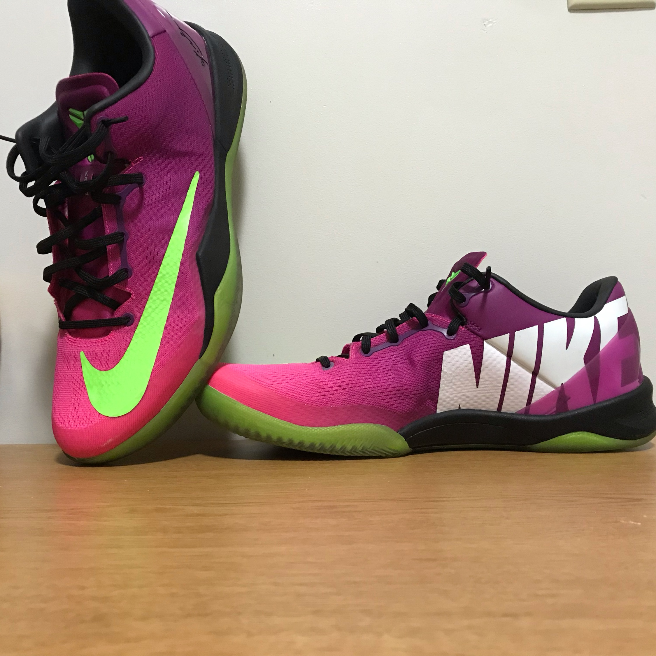Kobe 8 Mambacurial Size 12 Vnds
