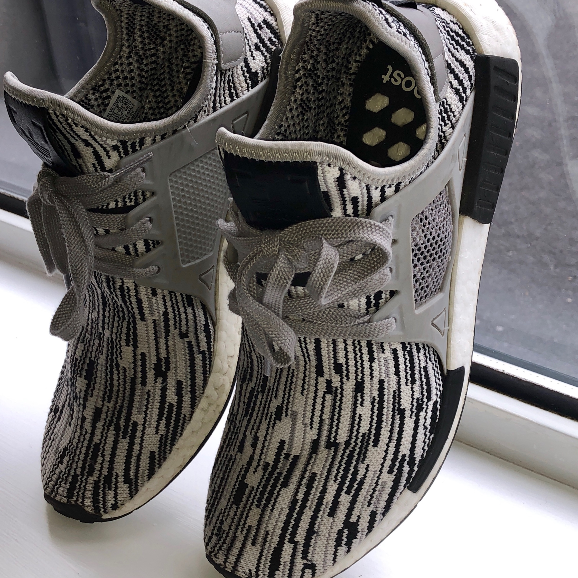 "low priced 918fc c9b81 Adidas Nmd Xr1 Glitch Camo ""Oreo"""