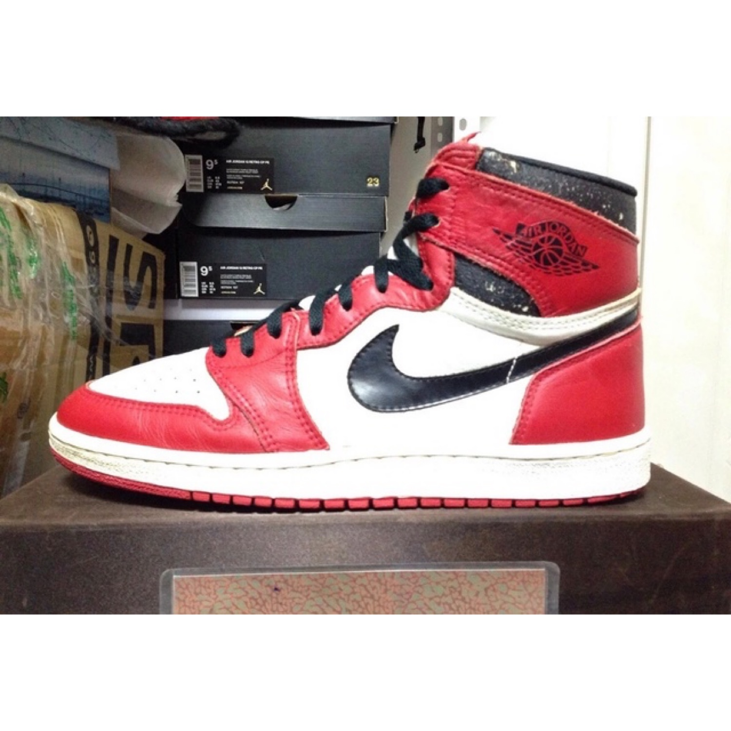 Nike Og Air Jordan 1 High Chicago 1985