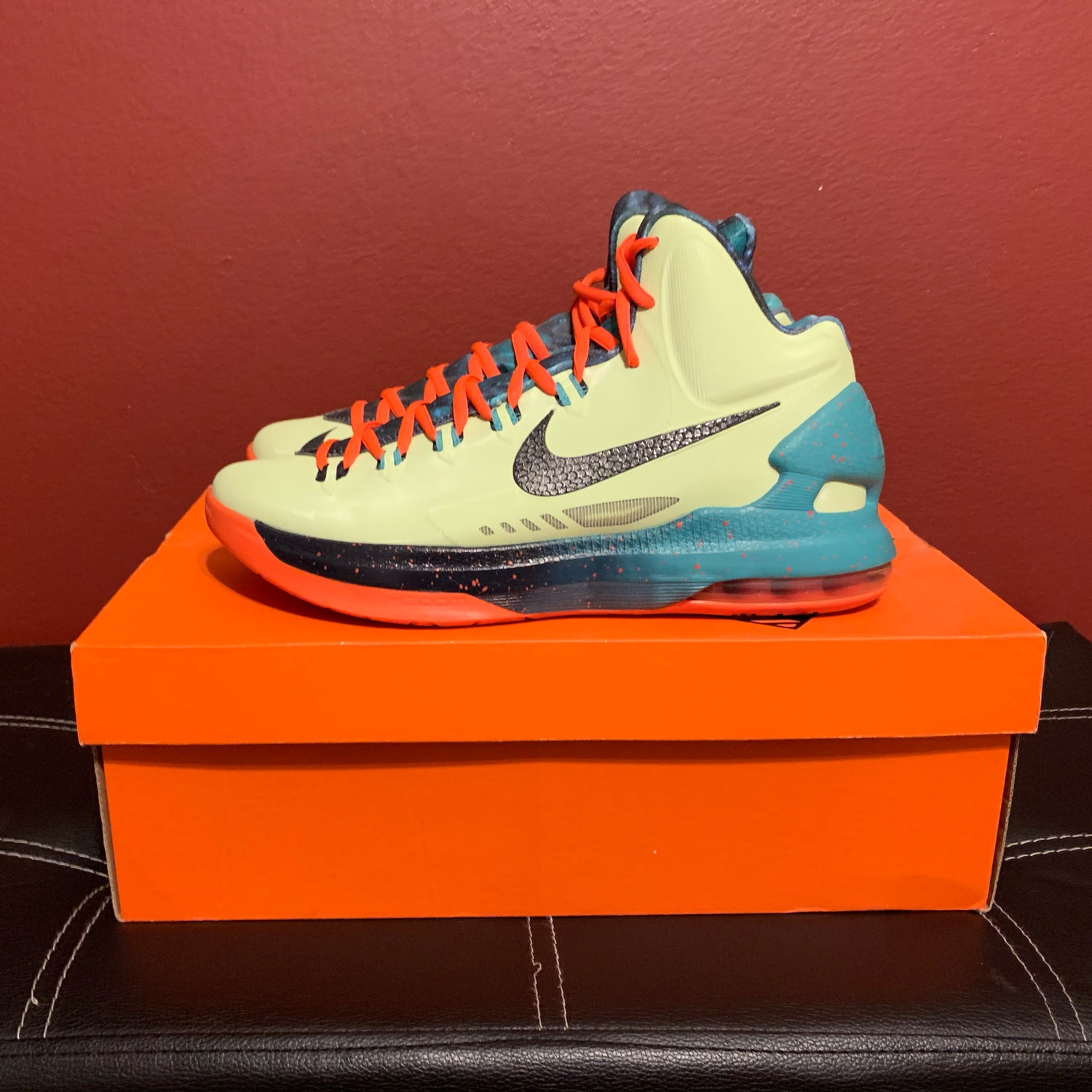 low priced d8143 8bd47 Nike Kd 5 All Star Area 72 Size 10
