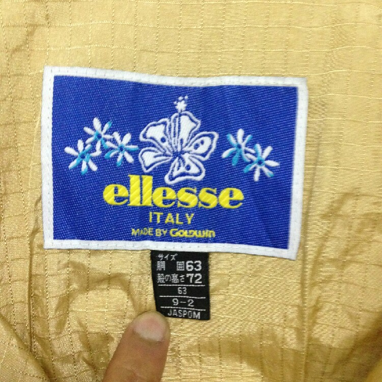 Ellesse by goldwin Overall Rare Color