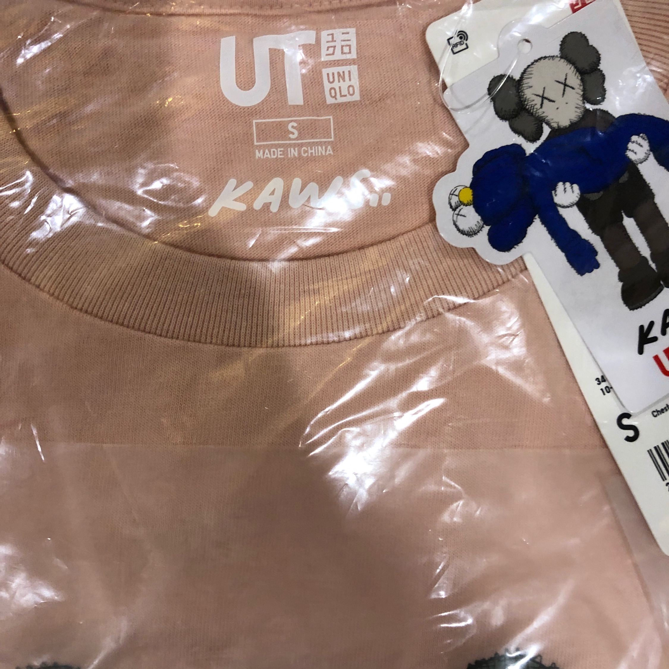 Last Kaws X Uniqlo Collaboration Pink Companion(S)