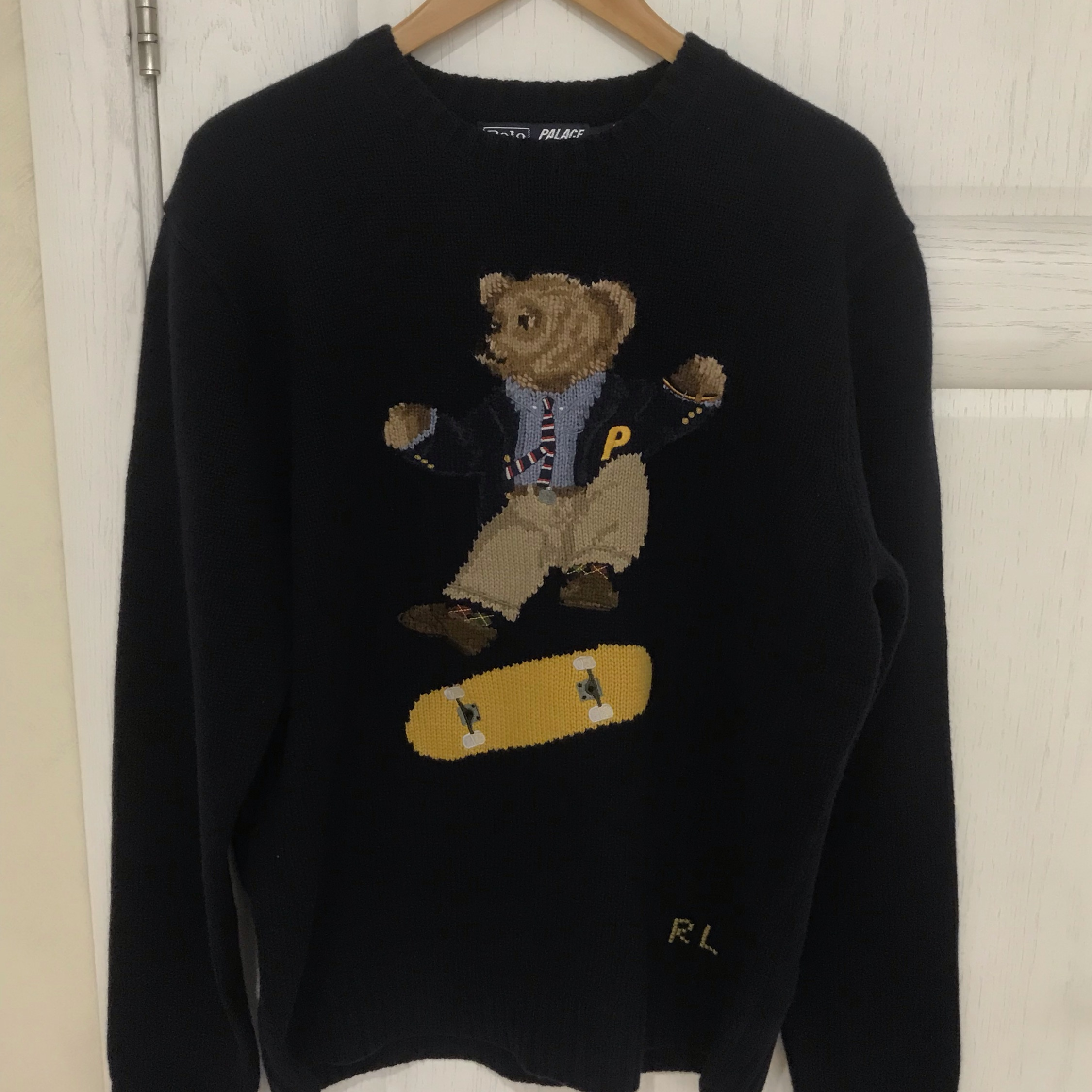 Palace Ralph Lauren Skate Polo Bear Sweater