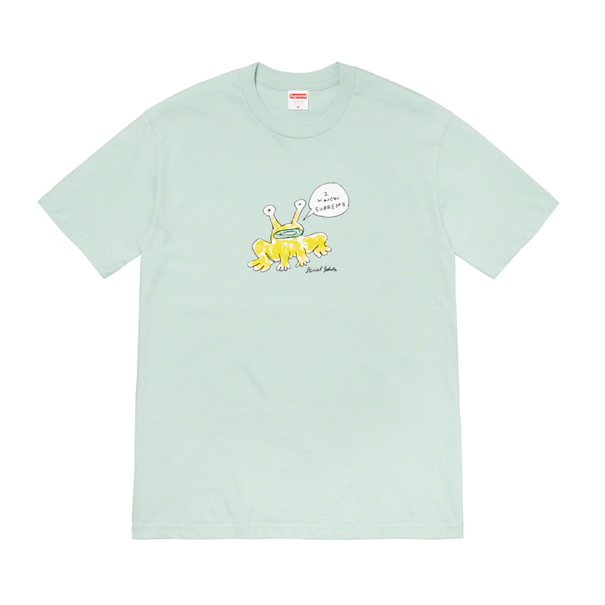 Supreme Daniel Johnston Frog Teal