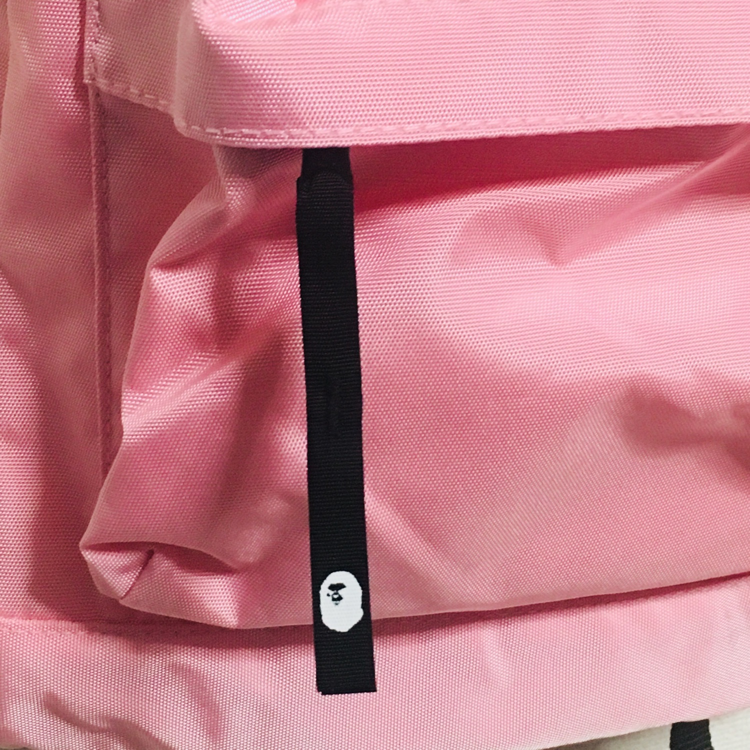 Bape Backpack Baby Milo Cotton Candy Pink Book Bag