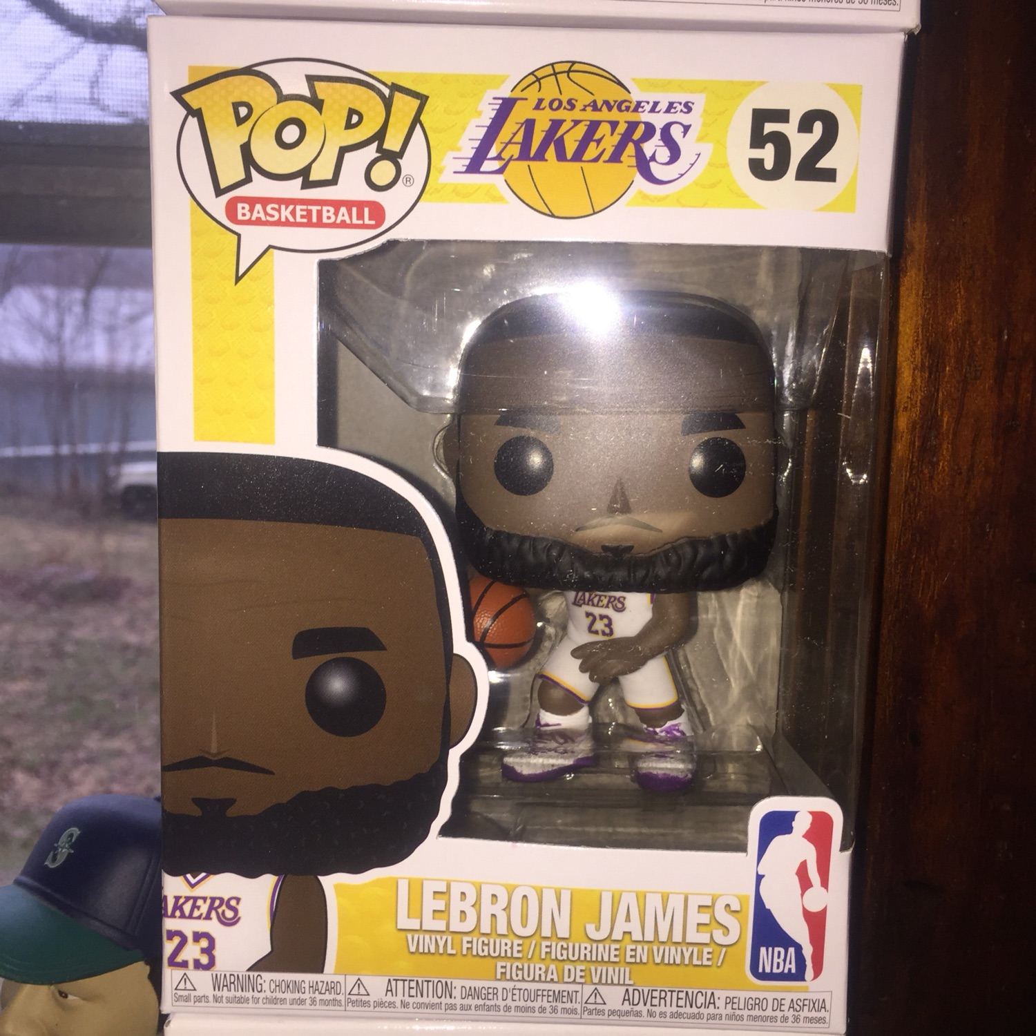 Lebron James Pop Funko White Jersey