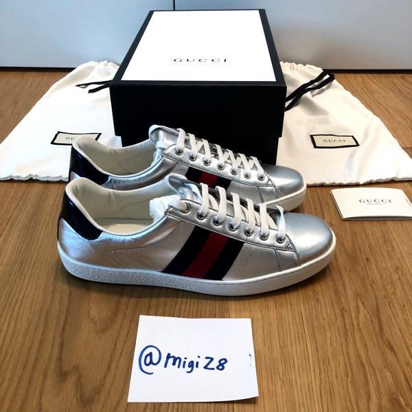 Gucci Special Edition New Ace Metallic Leather